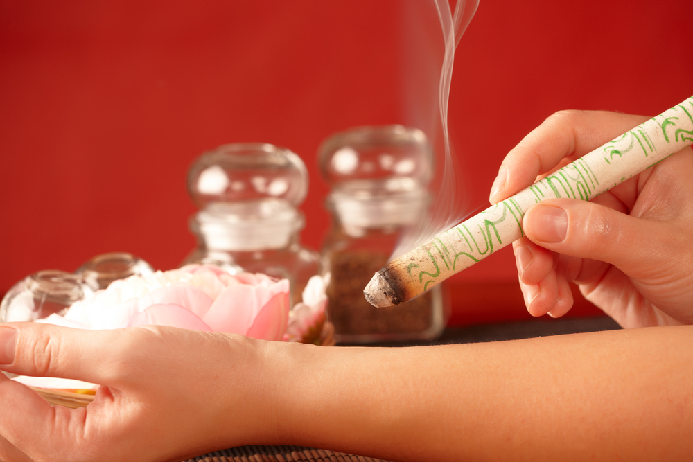Moxibustion is an important therapy in traditional Chinese medicine ...